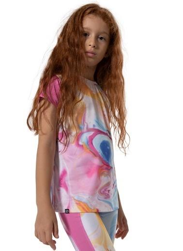 Colorinas Stay Active Tshirt Pembe Pembe